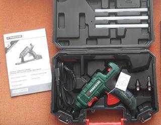 Pistola termosellado + 3 barras silicona Ø11mm