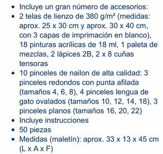 MALETÍN DE PINTURAS CON CABALLETE