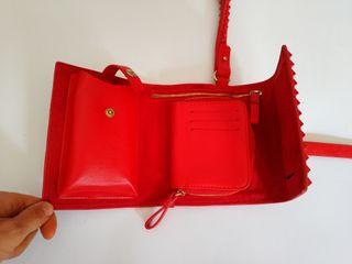 Segunda Mano 7 Por Mini Bolso De Tachuelas Rojo Zara Con OnNkX80Pw