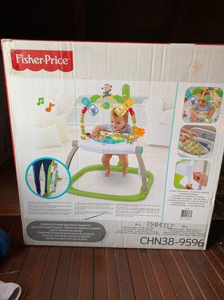Fischer price centro de actividades saltador