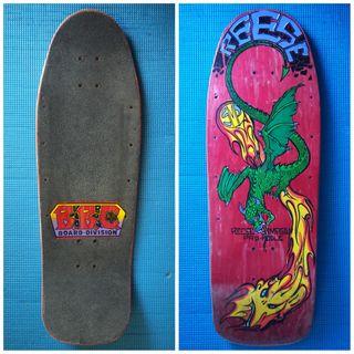 BBC 1989 Skate Old School Monopatín Vintage