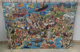 Puzzle de 5000 piezas hecho.