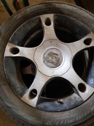 """Venta de llantas con ruedas 16"""""""
