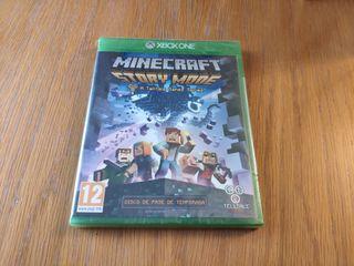 PRECINTADO Minecraft Story Mode Xbox One