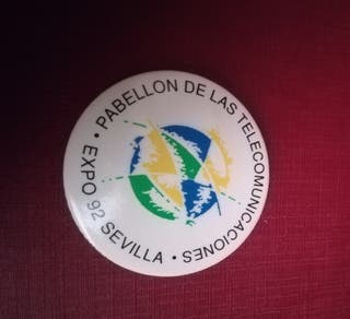 CHAPA ORIGINAL EXPO 92