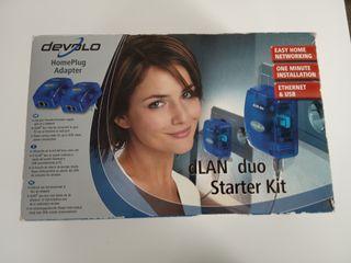 Repetidor LAN por red eléctrica