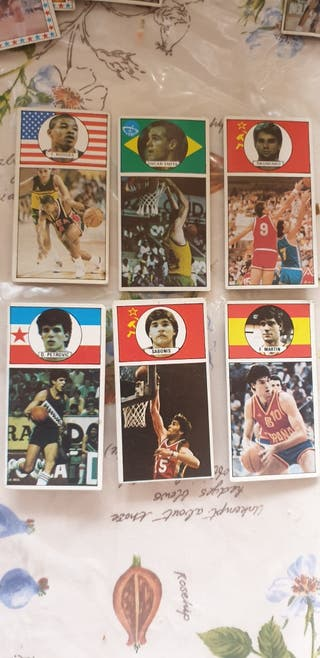 Cromos baloncesto 1984