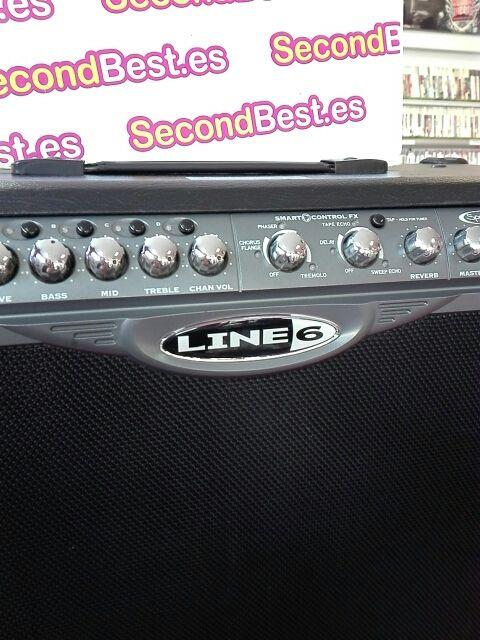 Amplificador Line 6 Spider 2 120 watts X2 de segunda mano
