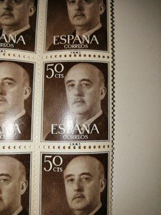 sellos 50cts franco