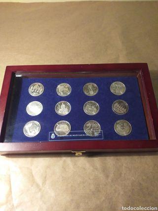 monedas centenario REAL MADRID 1902-2002