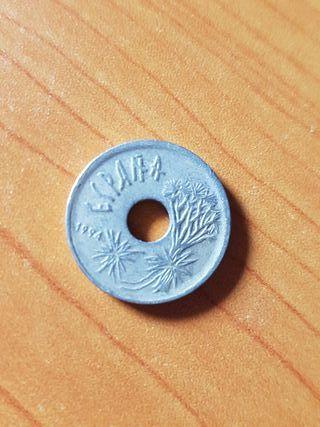 Moneda 25 pesetas Canarias 1994