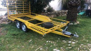 Remolque plataforma buggies Cobano 750kg