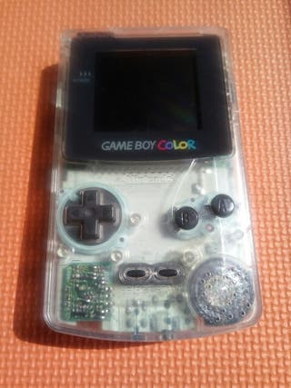 Nintendo game boy color transparente