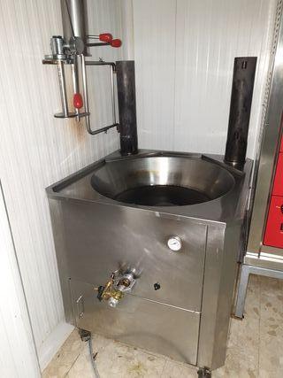 máquina de freidora de churros