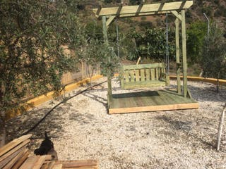 columpio para jardín