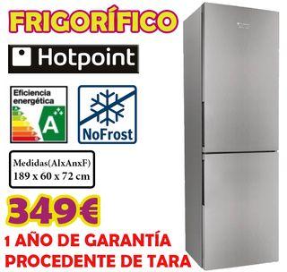 FRIGORIFICO HOTPOINT INOX 1,89M A+++