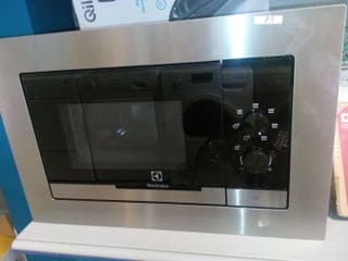 Microondas Electrolux 60*39 inox Encastrado