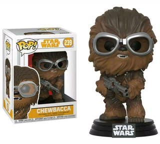 POP 239 STAR WARS CHEWBACCA FIGURA COLECCION FUNKO