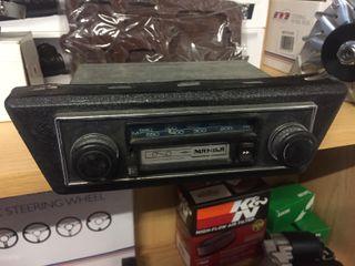 radio para coches clasicos