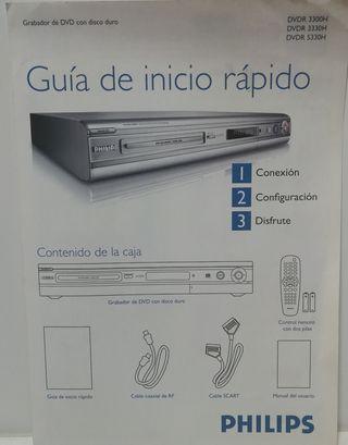 Grabador DVD y disco duro Philips