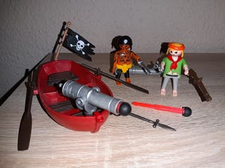 Barca pirata playmobil