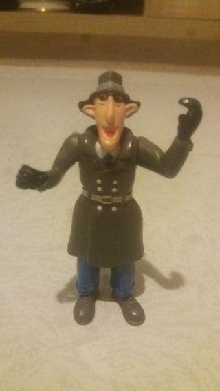 Muñeco antiguo inspector gachet