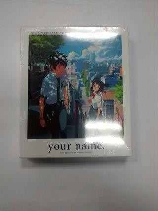 Your Name Edicion Coleccionista Blu-ray
