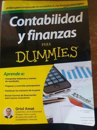 Libro CONTABILIDAD/FINANZAS - Dummies - Oriol Amat