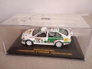 Skoda Octavia WRC firmada Gardemeister