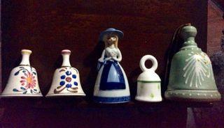 Campanillas de ceramica