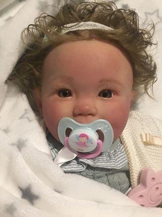 5d4fcd9fb Bebé Reborn - Muñecos Reborn de segunda mano en Getafe en WALLAPOP