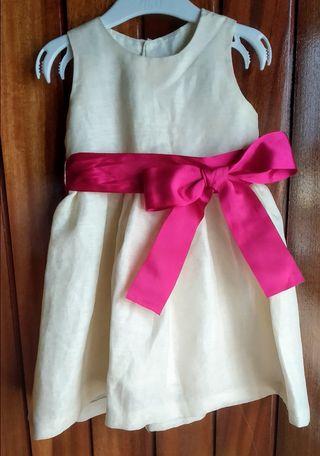 Vestido Ceremonia Niña Talla 2-3 años