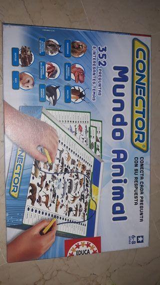 Juego mesa mundo animal conector