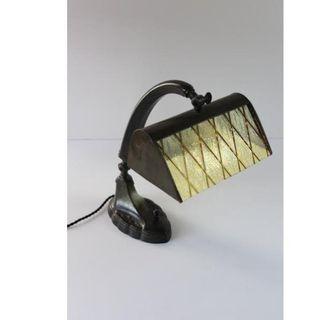 Antigua lámpara de mesa art-deco
