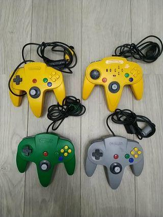 Nintendo 64 mandos