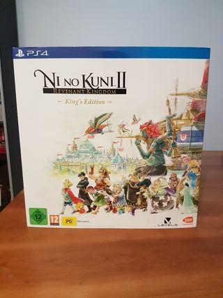 Edición Coleccionista Ni No Kuni II (sin juego)