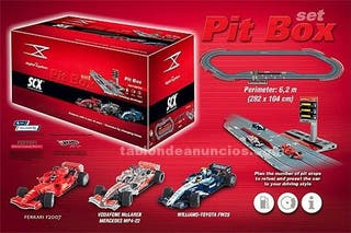 SCALEXTRIC PIT BOX DIGITAL SYSTEM