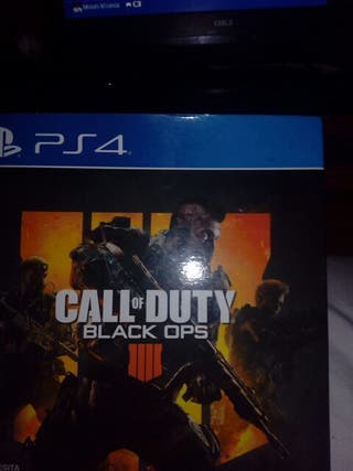 Cambio Call of duty Black ops 4 ps4