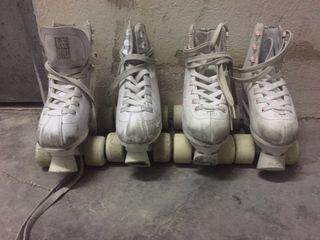 Patines de patinaje artístico . Precio por par