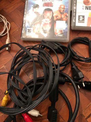 Vendo PS3 300G+30 juegos