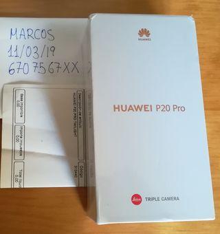 Huawei p20 pro precintado nuevo 2 años garantía