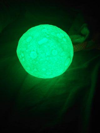 Luna con leds de 7 colores