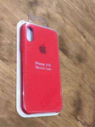 Funda iPhone X color rojo