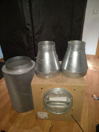 kit de extractor mas filtro