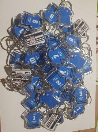 Llaveros de fútbol personalizados