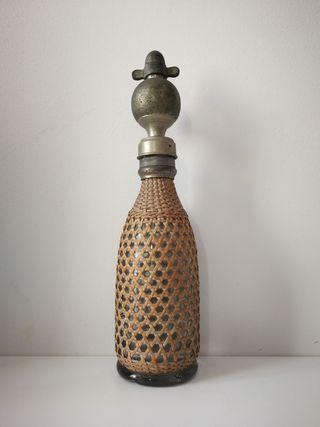 Antigua Botella de Sifón Francesa