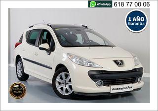 Peugeot 207 SW Sport 1.6 HDi 92 CV. 1 Propietaria.