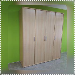 Armario 4 puertas (outlet)