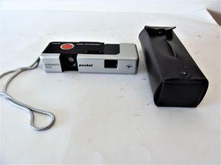 Camara de fotos Agfamatic 1008 sensor años 70