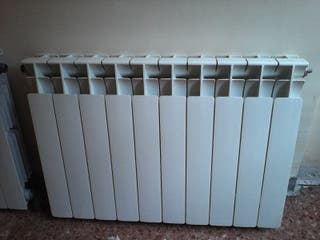 Radiador de aluminio de 10 módulos